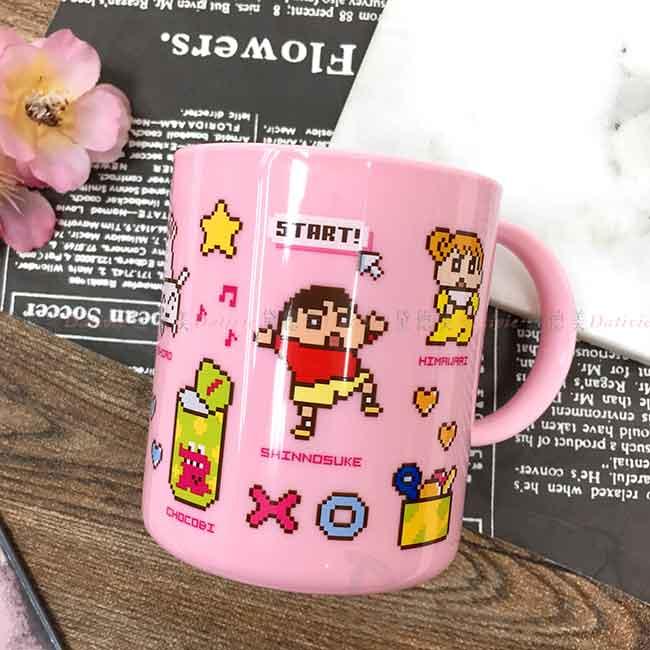 塑膠水杯 日本 蠟筆小新 クレヨンしんちゃん Crayon Shin Chain 漱口杯 日本進口正版授權