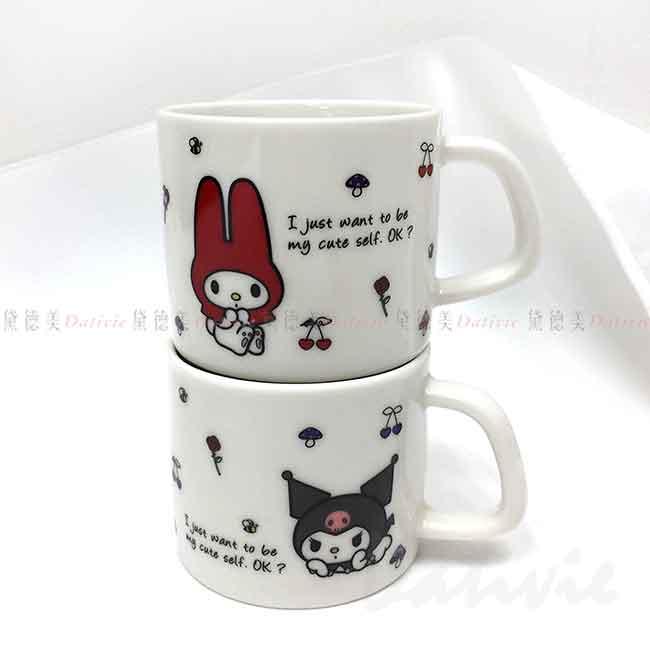 迷你陶瓷馬克杯 日本 三麗鷗 美樂蒂 酷洛米 金正陶器 迷你杯 日本進口正版授權