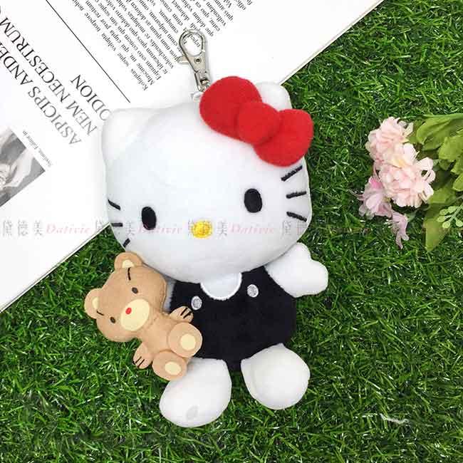 造型絨毛玩偶吊飾 三麗鷗 Sanrio Original 凱蒂貓 KITTY 娃娃 日本進口正版授權