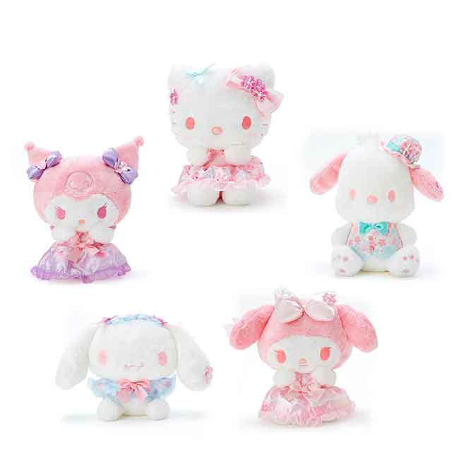 沙包絨毛玩偶 Sanrio Original 櫻花季 KITTY 酷洛米 美樂蒂 帕恰狗 大耳狗 娃娃 日本進口正版授權