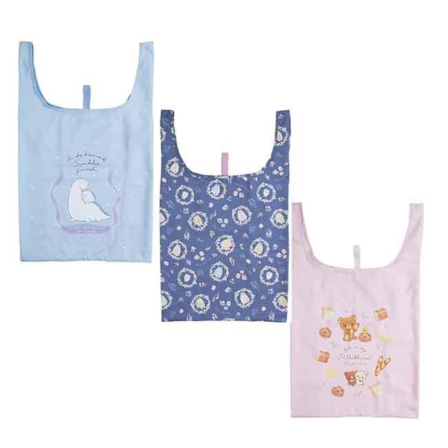 收納環保袋 san-x 角落生物 恐龍媽媽 拉拉熊 懶懶熊 購物袋 日本進口正版授權