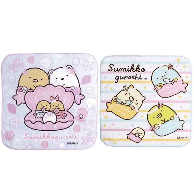 角落小方巾 san-x 角落小夥伴 純棉毛巾 日本進口正版授權