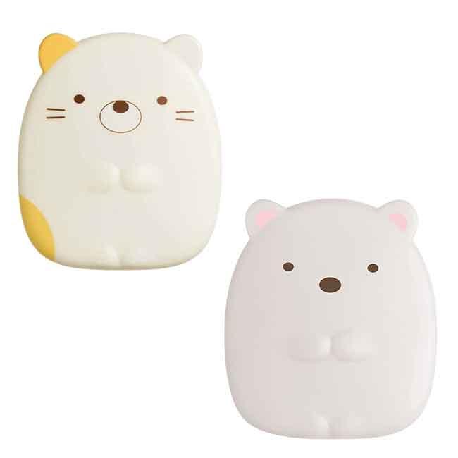 隨身鏡 San-x 角落生物 貓咪 白熊 鏡子 日本進口正版授權