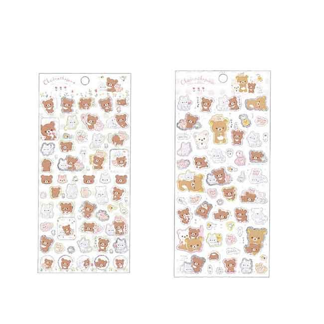 拉拉熊貼紙 日本 san-x 懶懶熊 閃亮貼紙 日本進口正版授權