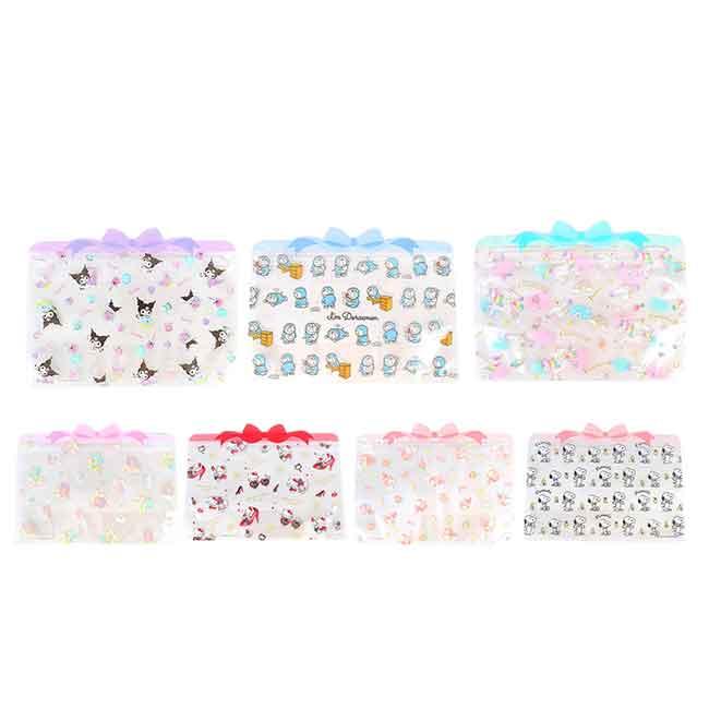 夾鏈袋組 Sanrio Original 美樂蒂 KT 雙子星 哆啦A夢 史努比 ZIPPER BAGS 日本進口正版授權