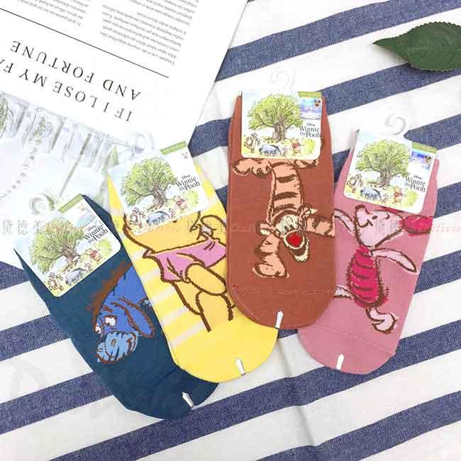 直版襪 迪士尼 小熊維尼系列 POOH DISNEY 15-22cm 襪子 正版授權