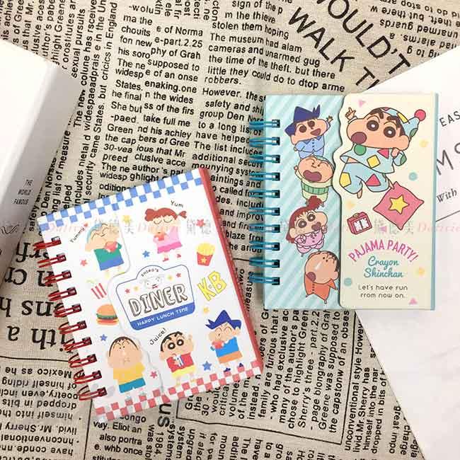 吸磁迷你橫條記事本 蠟筆小新 Crayon Shin Chain 筆記本 日本進口正版授權