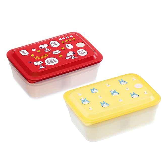 保鮮盒 史努比 龍貓 SIAA抗菌加工 Ag+銀離子抗菌除臭 SKATER 便當盒 日本進口正版授權