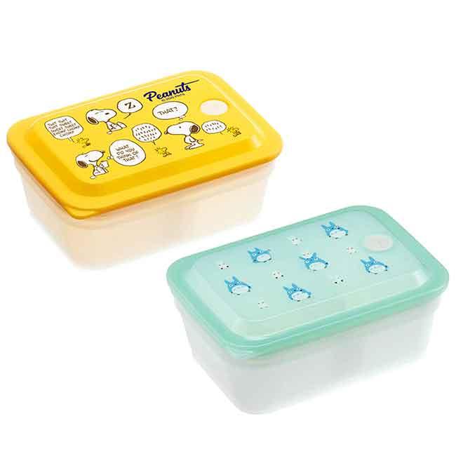 保鮮盒 龍貓 史努比 SIAA抗菌加工 Ag+銀離子抗菌除臭 便當盒 日本進口正版授權