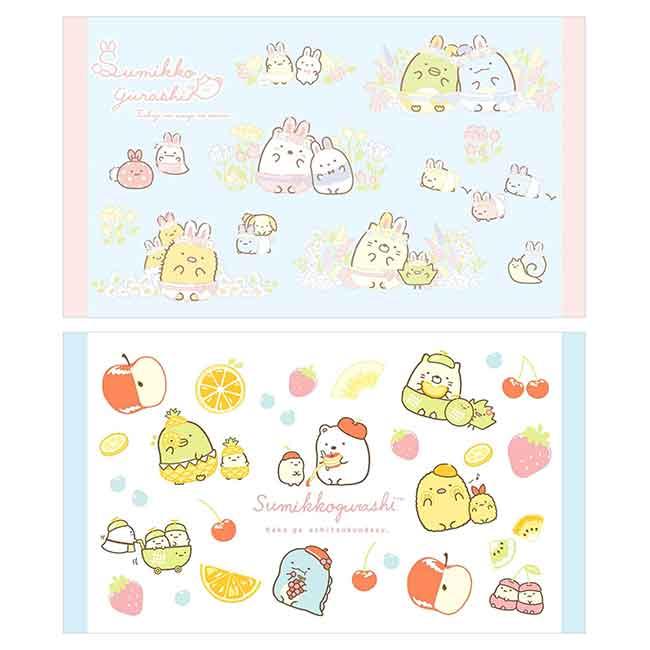 純棉浴巾(L) San-x 角落生物 sumikko gurashi 水果風 沙灘巾 日本進口正版授權