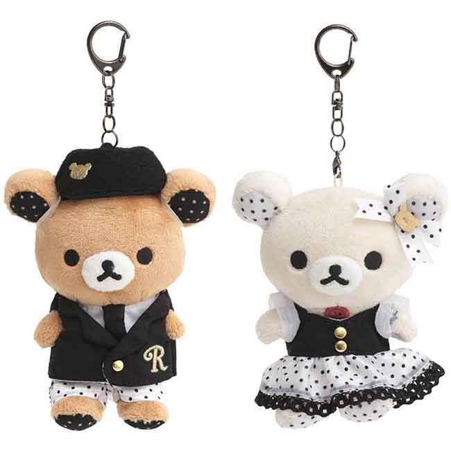 絨毛玩偶吊飾 拉拉熊 懶懶熊 Rilakkuma 娃娃 日本進口正版授權