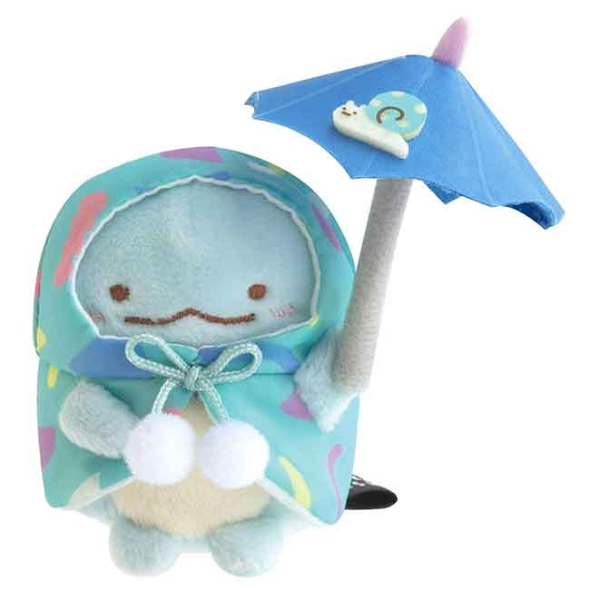 絨毛玩偶 san-x 角落生物 sumikko gurashi 雨天 小娃娃 日本進口正版授權