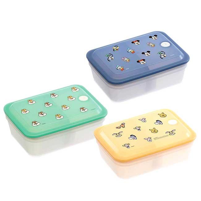 保鮮盒 日本 迪士尼 維尼 奇奇蒂蒂 米奇米妮 SIAA抗菌加工 Ag+銀離子抗菌除臭 便當盒 日本進口正版授權