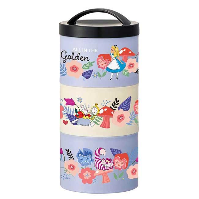 瓶型三層保鮮盒 日本 迪士尼 灰姑娘 Cinderella SKATER 保鮮罐 日本進口正版授權