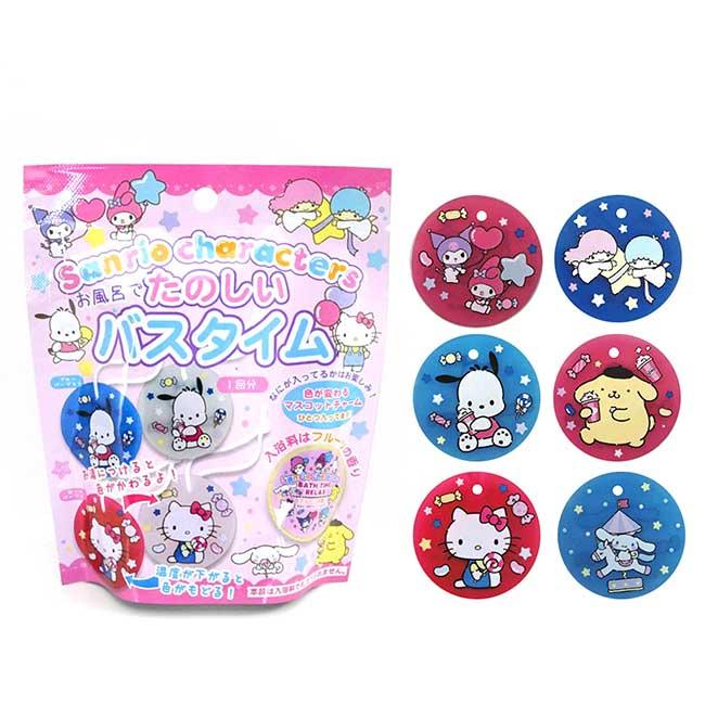 沐浴球 sanrio 凱蒂貓 酷洛米 布丁狗 大耳狗 帕恰狗 雙子星 泡澡球 日本進口正版授權