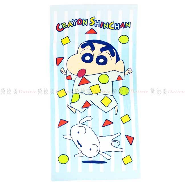 純棉浴巾 蠟筆小新 睡衣派對 Crayon Shin Chain 大浴巾 正版授權
