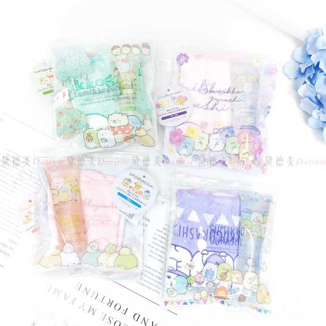 護手霜方巾組 San-x 角落小夥伴 Sumikkogurashi 正版授權
