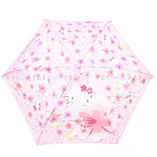 頭型柄雨陽摺疊傘 Sanrio 凱蒂貓 HELLO KITTY 三麗鷗 陽雨傘 日本進口正版授權