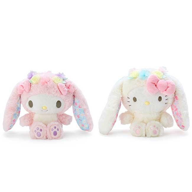 絨毛變裝玩偶 三麗鷗 Sanrio Original 美樂蒂 KITTY 娃娃 日本進口正版授權