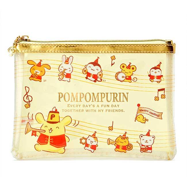 扁平防水收納袋  Sanrio Original 布丁狗 微笑 25週年紀念系列 筆袋日本進口正版授權