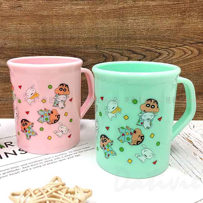 塑膠水杯 蠟筆小新 Crayon Shin Chain 漱口杯 正版授權