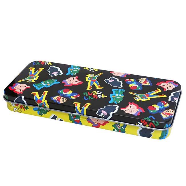 鉛筆盒 日本 蠟筆小新 Crayon Shin Chain 單層筆盒 日本進口正版授權