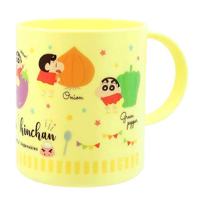 單耳塑膠杯 日本 蠟筆小新 Crayon Shin Chain 漱口杯 日本進口正版授權