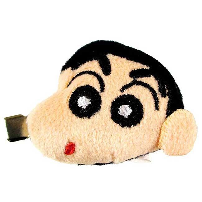 造型玩偶髮夾 蠟筆小新 クレヨンしんちゃん Crayon Shin Chain 髮飾 日本進口正版授權