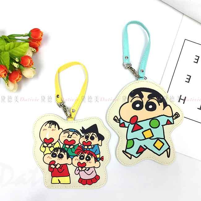 吊掛票卡夾 蠟筆小新 Crayon Shin Chain 票卡套 日本進口正版授權