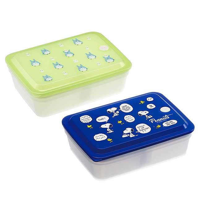 方形微波保鮮盒 史努比 豆豆龍 SKATER TOTORO 便當盒 日本進口正版授權