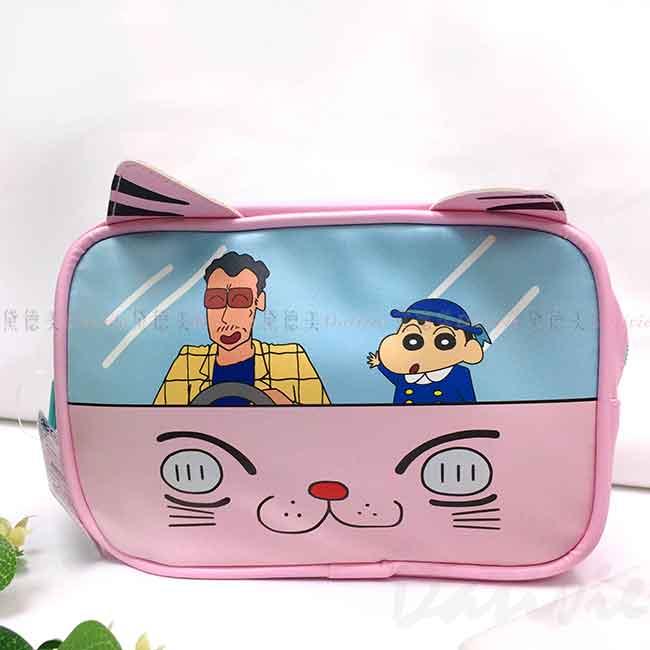 萬用收納包-蠟筆小新 Crayon Shin Chain クレヨンしんちゃん 化妝包 日本進口正版授權