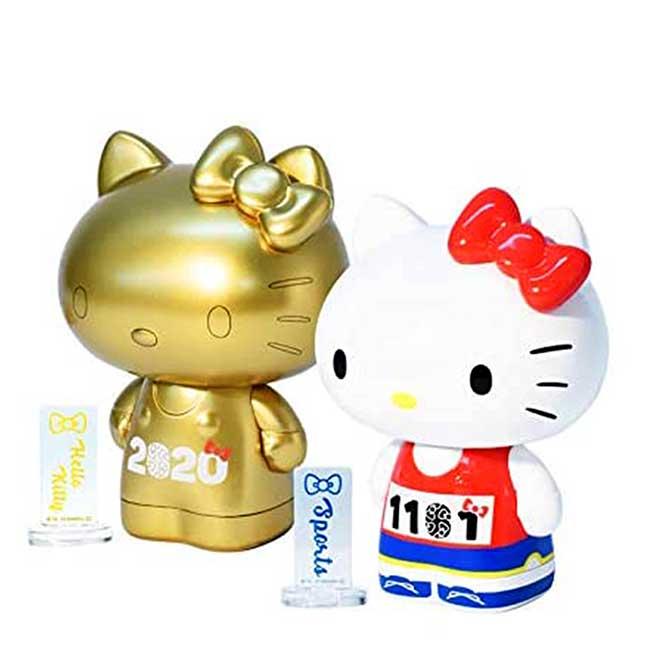 造型塑膠公仔 三麗鷗 凱蒂貓 HELLO KITTY 紀念公仔 日本進口正版授權