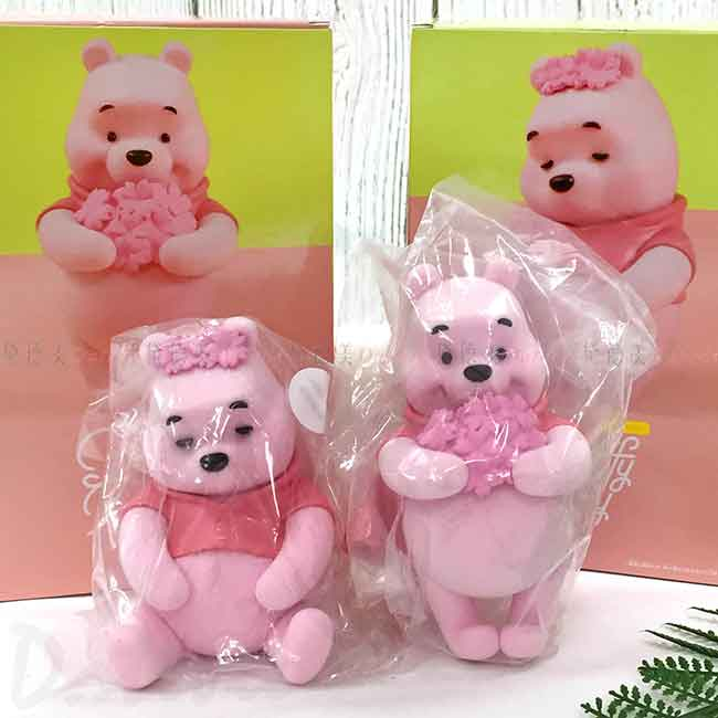 公仔 迪士尼 小熊維尼 POOH Fluffy Puffy BANDAI 擺飾 日本進口正版授權