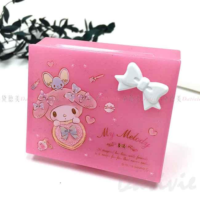 六格收納盒 三麗鷗 美樂蒂 MY MELODY 小物盒 日本進口正版授權