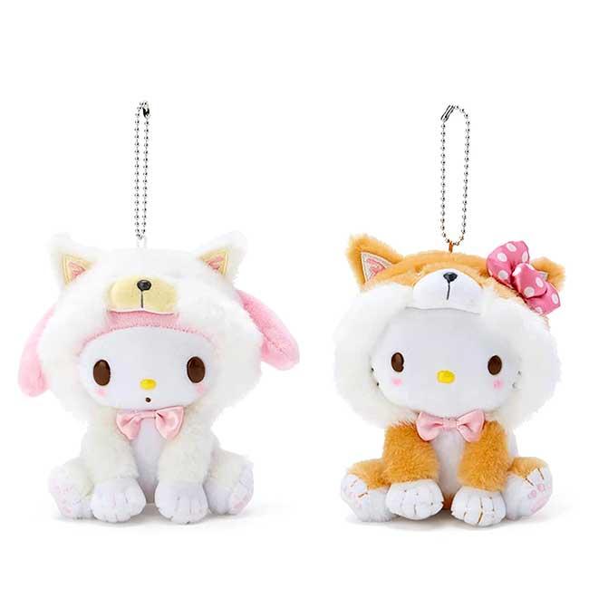 絨毛玩偶吊飾 Sanrio Original KITTY 柴犬 凱蒂貓 娃娃 日本進口正版授權