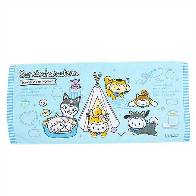 純棉毛巾 Sanrio Original 凱蒂貓 柴犬 角色集合 Character 日本進口正版授權
