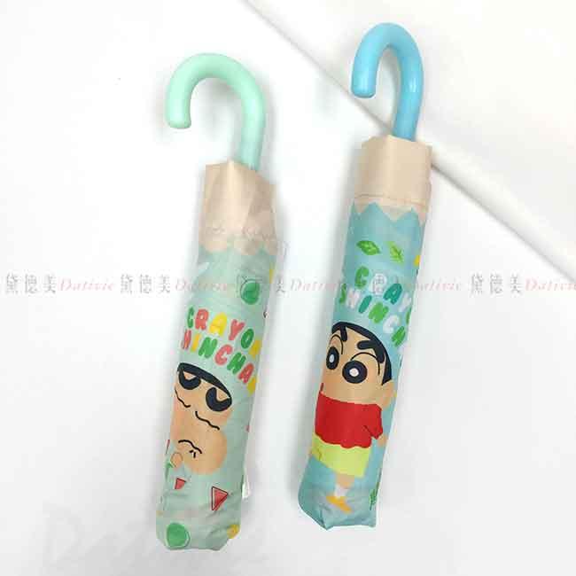 輕量折疊傘 蠟筆小新 睡衣 野餐 短傘 正版授權