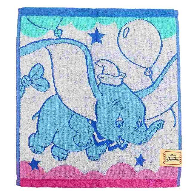 純棉方巾 迪士尼 小飛象 SEK抗菌除臭 Dumbo 毛巾 日本進口正版授權