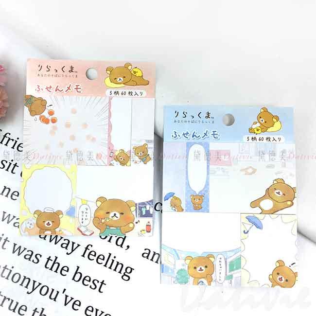 便利貼 日本 San-x 拉拉熊 Rilakkuma 懶懶熊 memo貼 日本進口正版授權