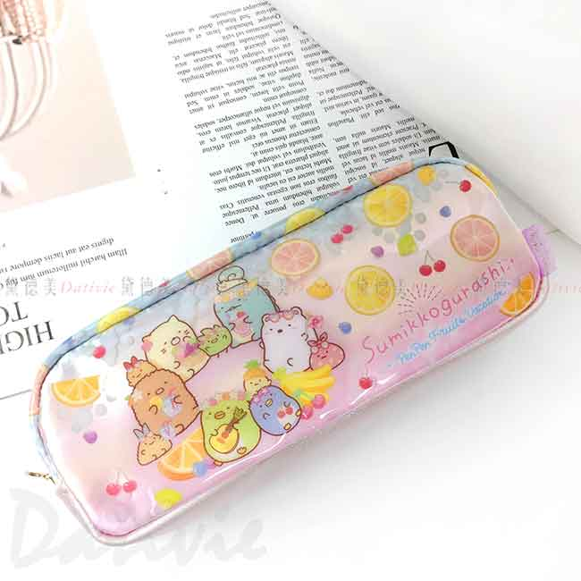 防水拉鍊防水筆袋 san-x 角落生物 Sumikkogurashi 鉛筆袋 日本進口正版授權