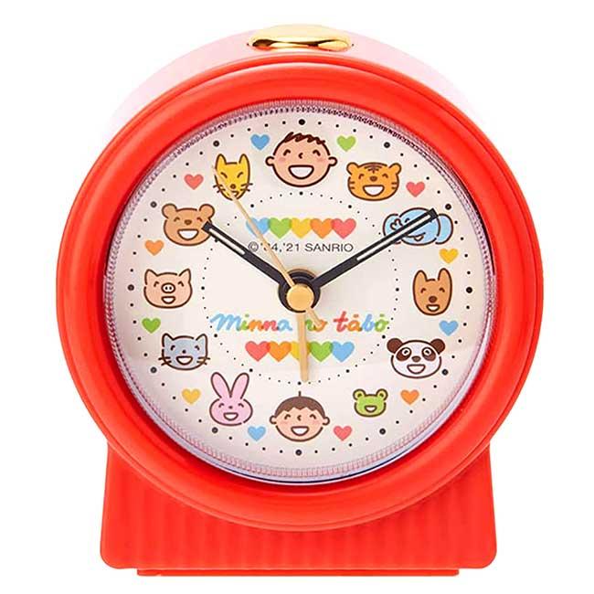 鬧鐘 Sanrio Original 大寶 Tabo 三麗鷗 桌鐘 日本進口正版授權