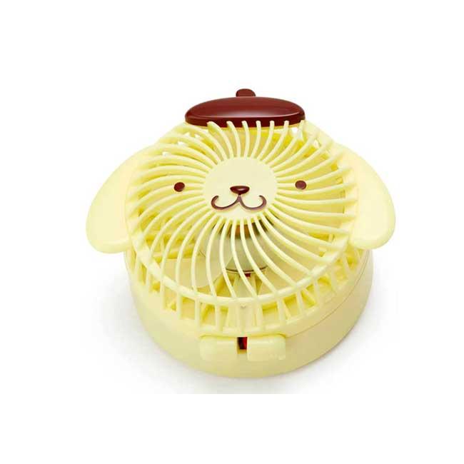 隨身電風扇附頸帶 Sanrio Original 布丁狗 Pomupomupurinin 三麗鷗 小立扇 日本進口正版授權