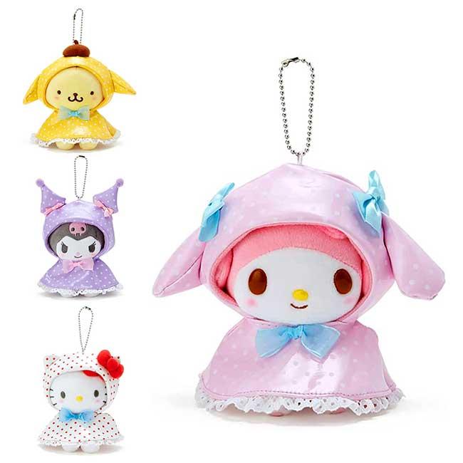 玩偶吊飾 Sanrio Origina 凱蒂貓 美樂蒂 酷洛米 布丁狗 娃娃 日本進口正版授權