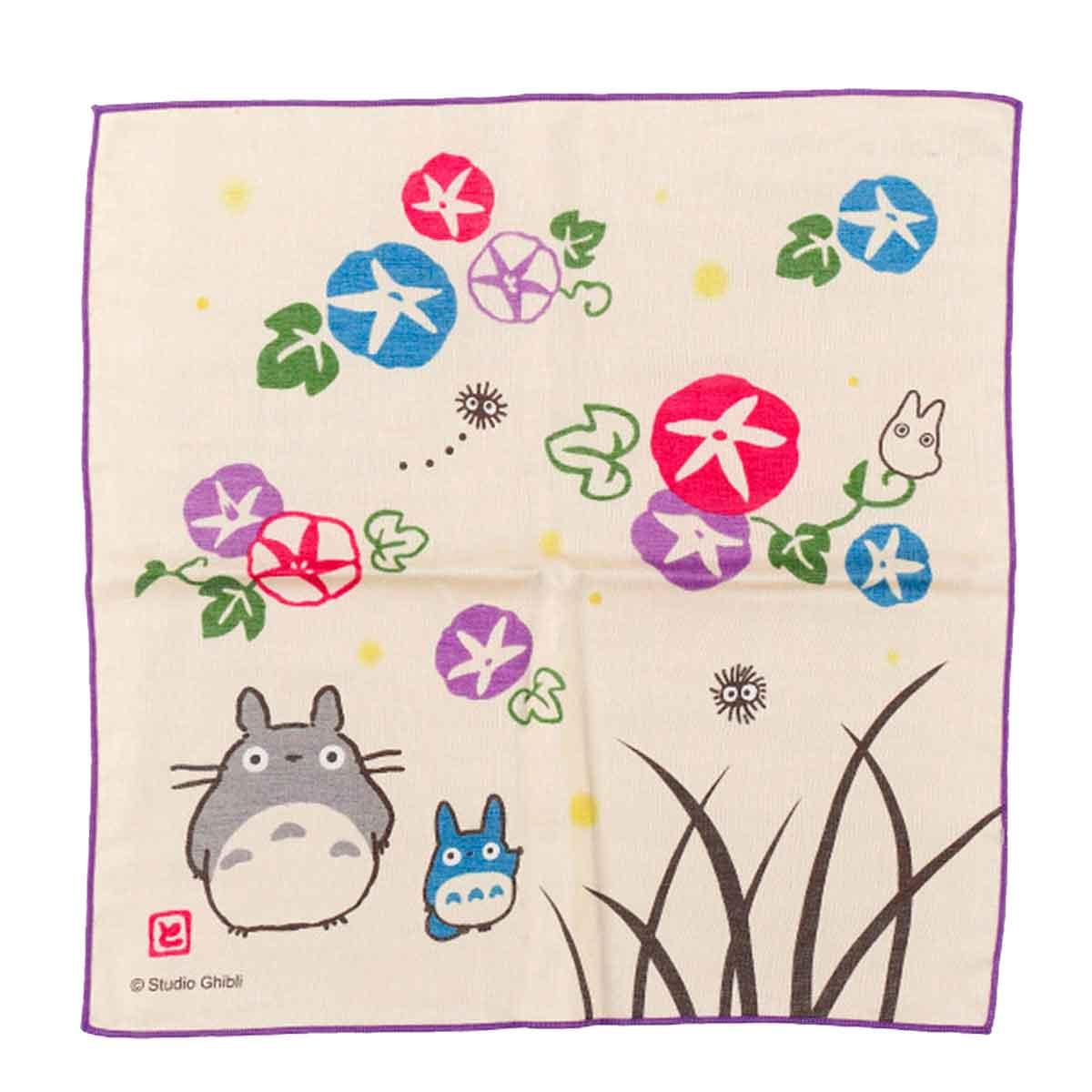 日本純棉紗布方巾 龍貓 豆豆龍 TOTORO 吉卜力 宮崎駿 手帕 日本進口正版授權