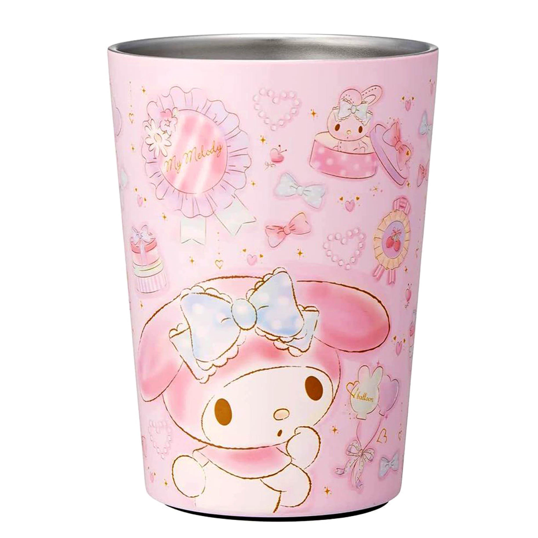 無蓋保溫杯 三麗鷗 美樂蒂 MY MELODY 杯子 日本進口正版授權