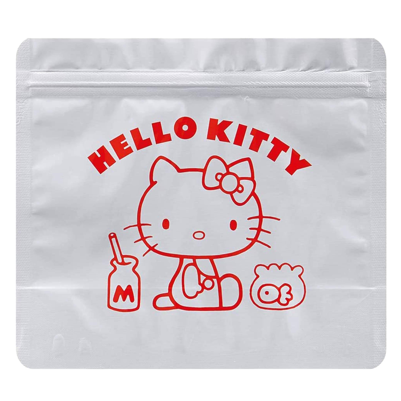 方形鋁製夾鏈袋 三麗鷗 Sanrio 5入 HELLO KITTY SKATER 收納袋 日本進口正版授權