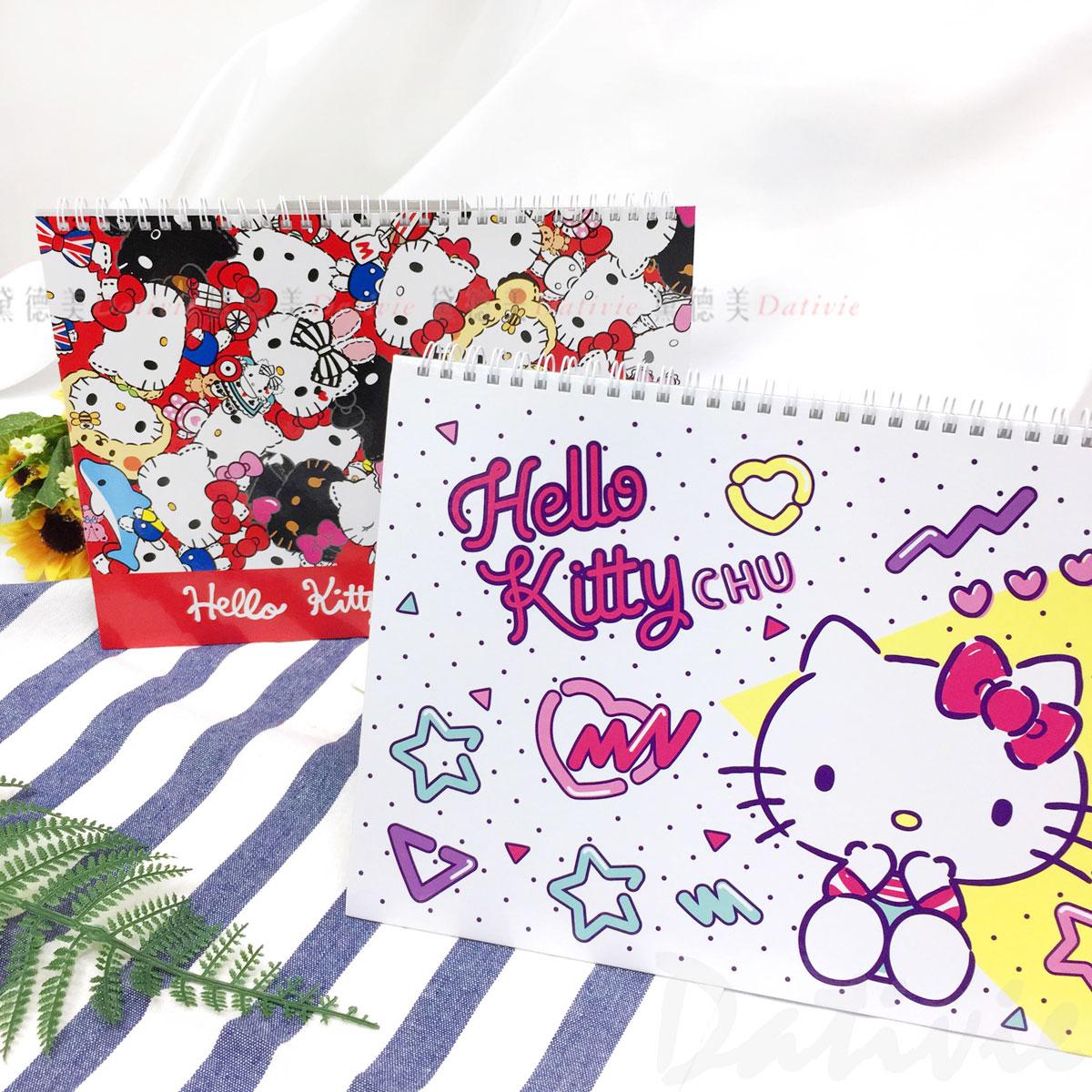 13K 寫寫畫畫擦擦本 凱蒂貓 HELLO KITTY 三麗鷗 Sanrio 空白本 正版授權