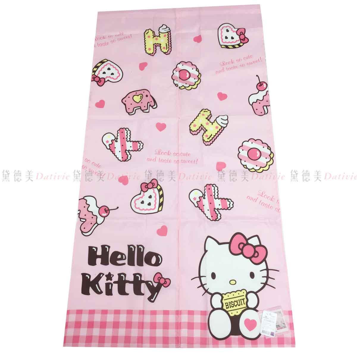 長門簾 三麗鷗 Hello Kitty 餅乾85x145cm 風水簾 正版授權