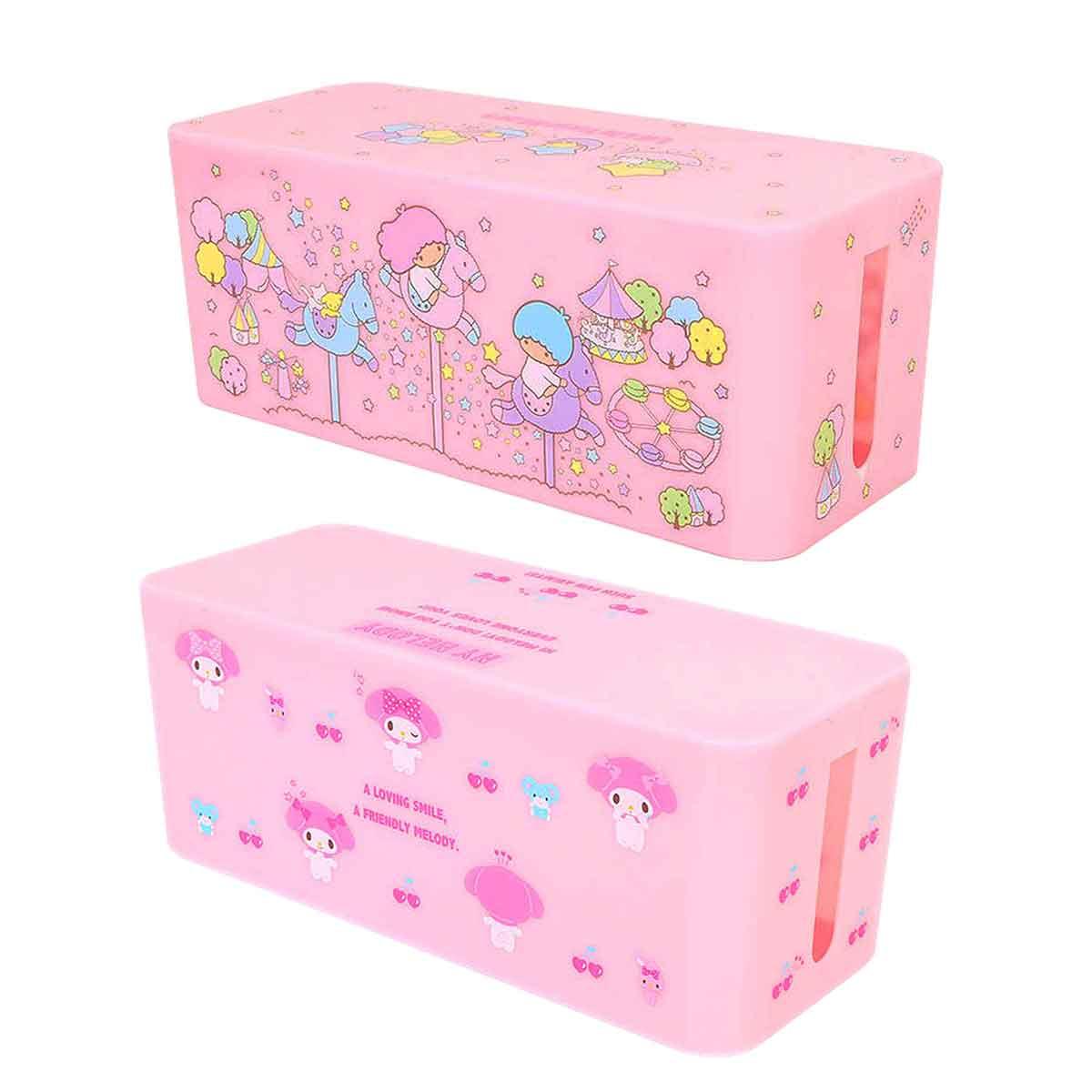 延長線收納盒 Sanrio Original 美樂蒂 kikilala 整線盒 日本進口正版授權