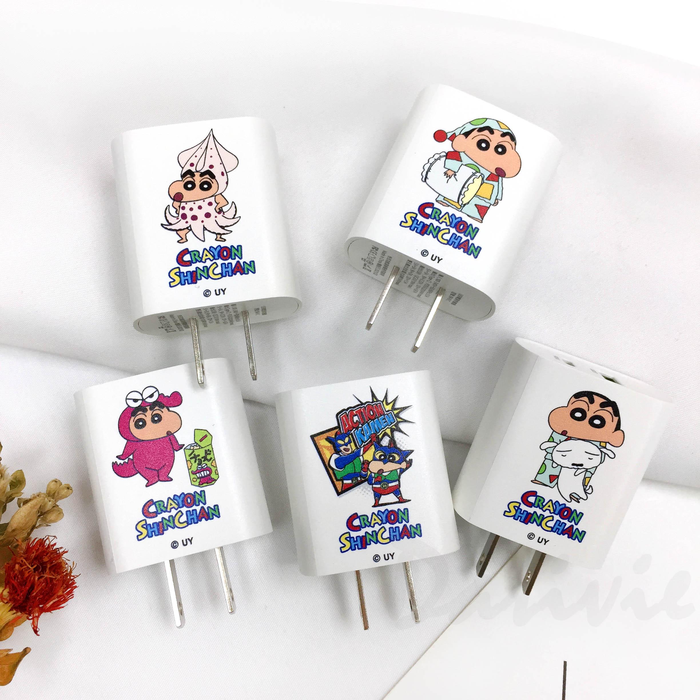 蠟筆小新 直角充電器 急速充電器 五款 正版授權
